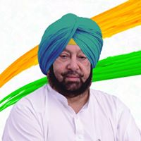 Current CM of Punjab - Capt. Amrinder Singh